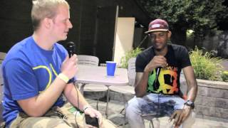 Damon Campbell Interviews Tuki Carter on the Spot (2012)