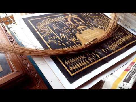 Folk artists of bastar paintings