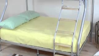 Bedkingdom Sweet Dreams Thor Triple Bunk Bed
