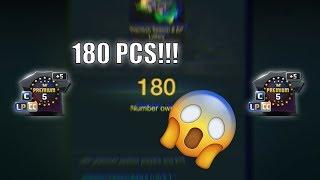 OPENING 180 PCS!!! PREMIUM SEASON & EP LOTTERY - FIFA ONLINE 3 강화성공! เปิดแพค!