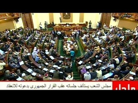 Egypt parliament convenes amid legal, political crisis