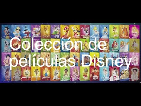Mi Coleccion De Clasicos Disney Youtube