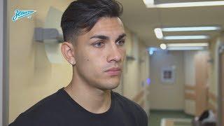 Леандро Паредес: «Сильно переживал из-за непопадания в сборную, но теперь все в порядке»