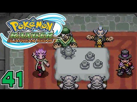 Pokémon Ranger: Guardian Signs   Part 41 - The Societea