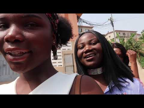 HAPPY NEW YEAR, East Legon, Pajama Party etc | HOLIDAY IN GHANA 2018 VLOG #6
