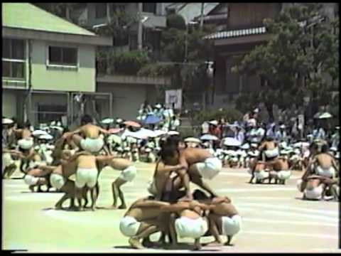 古前小学校春季大運動会1987