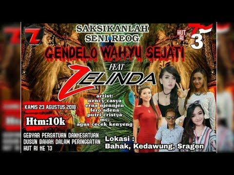 Live Streaming SANJAYA MULTIMEDIA//ZELINDA Feat Reog GENDELO WAHYU JATI//MM SOUND//23 Agustus 2018