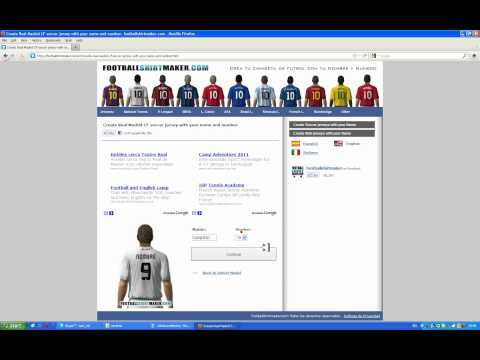FootBall Shirt Maker   www elogio tk