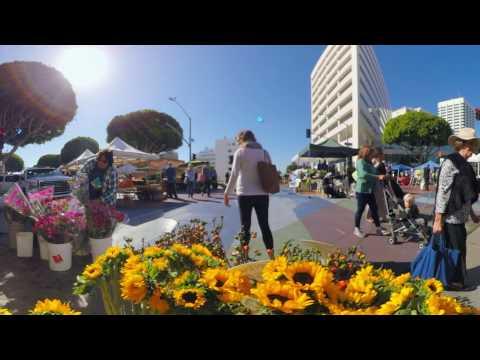 Virtual Reality: Downtown Santa Monica Farmers Market