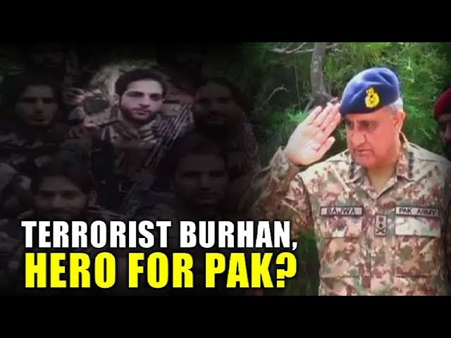 Exclusive: Watch how terrorist Burhan Wani features as Hero in Pak Army video | NewsMo