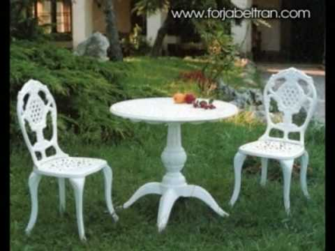 Ideas de decorarion con muebles de aluminio para jardines for Mobles de jardi