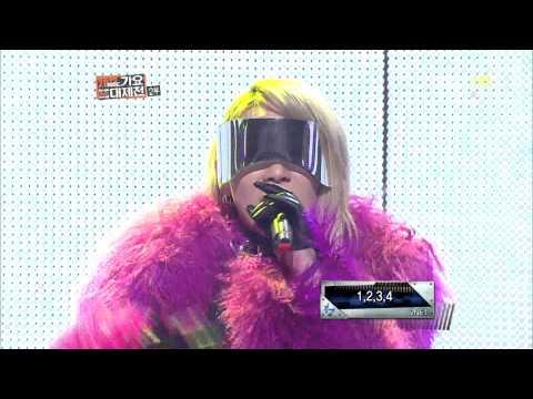 [HD] 1,2,3,4 - CL Rap Cut @ MBC Gayo Daejun 2012 (2013-01-01)