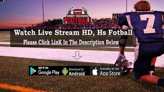 Cambria-Friesland vs Deerfield - Hs Football Live Stream 2019