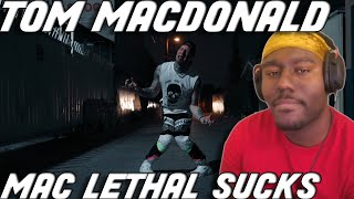 "Tom Is A BULLY! Tom MacDonald - ""Mac Lethal Sucks"" (Reaction)"