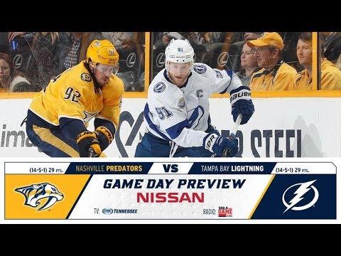 NHL 19 PS4. REGULAR SEASON 2018-2019: Tampa Bay LIGHTNING VS Nashville PREDATORS. 11.19.2018.(NBCSN)
