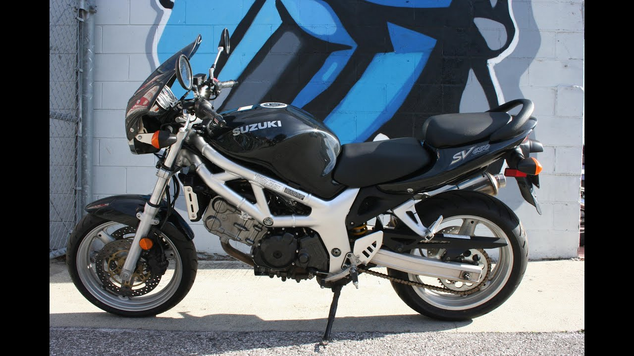 2002 Suzuki SV650 Motorcycle For Sale... Very Clean! - YouTube