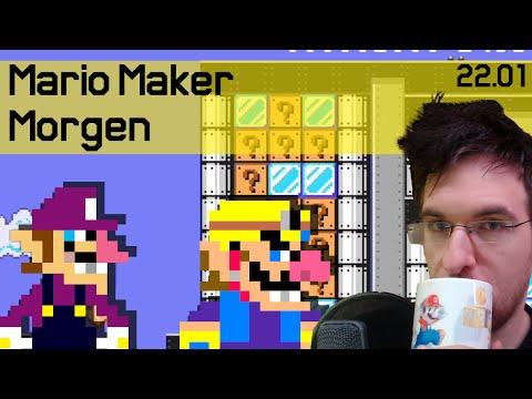 22.01 | Wario&Waluigi rauben ne Bank aus! | Mario Maker Morgen