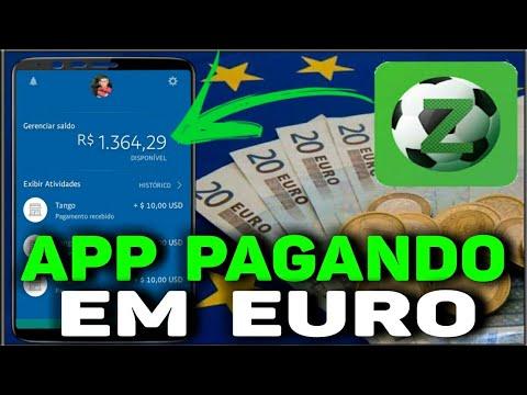 App Top Pagando Euro, Mínimo 0,50€ PayPal, Bitcoin E Mais... 💰