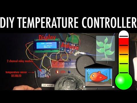 DIY Temperature Controller aquarium greenhouse - with
