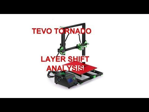 TEVO TORNADO - Y axis layer shift analysis