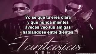 karaoke Lenny Tavárez - Fantasias Ft. De La Ghetto & J Alvarez Remix karaoke