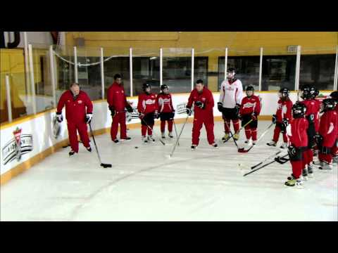 NHL Skills: Angling Forward From Canadian Tire Hockey School