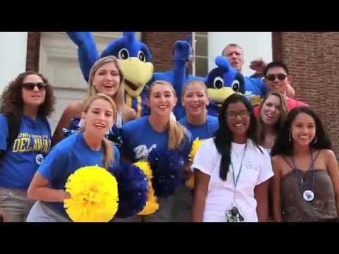 2014-2015 Delaware Cheerleading Crowd Demo