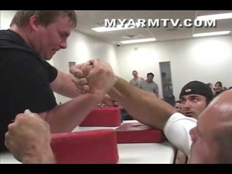 Armwrestling match of his life...Tim Lewis on ARM TV