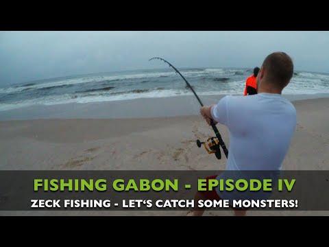 FISHING GABON - EPISODE IV - CATCHING MONSTER SHARKS!