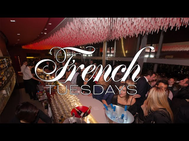 FRENCH TUESDAYS - BAR LA VUE - CONCORDE LAFAYETTE PARIS