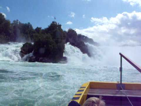 De Watervallen Van Schaffhausen.Watervallen Schaffhausen Youtube
