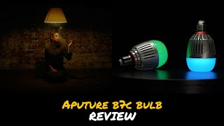 Aputure B7c Light Bulb Review + Test