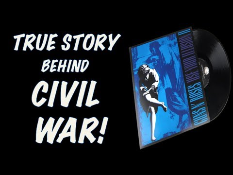 Guns N' Roses: The True Story Behind Civil War! George Michael Talks Civil War!