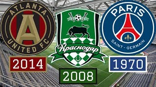 7 Best Clubs Founded in the Last 50 Years