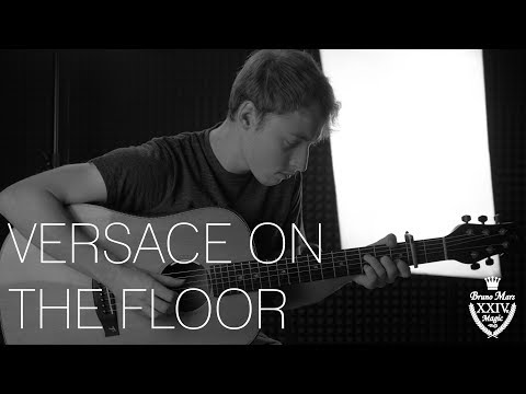 Bruno Mars - Versace On The Floor - Fingerstyle Guitar Cover by James Bartholomew