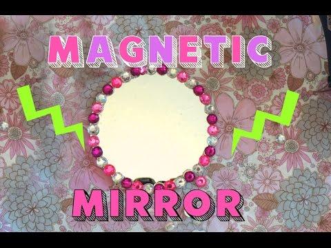 DIY Locker Mirror