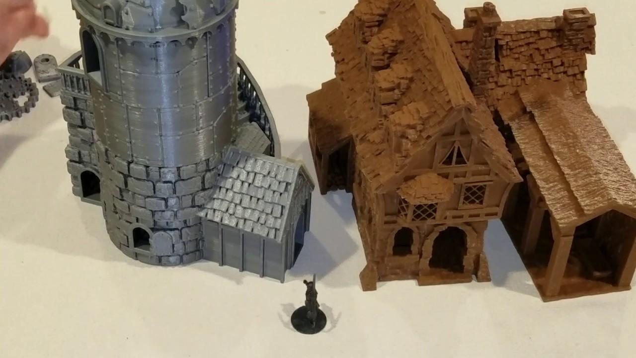 image regarding Printable Scenery identify #267 3D Printing for Wargames against Printable Surroundings documents