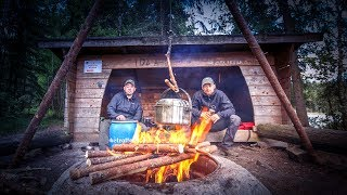 7 Tage Survival Bushcraft Kanu Tour in Schweden #02