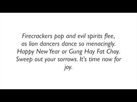 3 Gung Hay Fat Choy