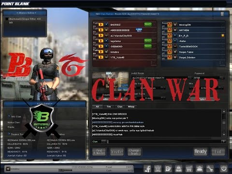 CLAN WAR - Point Blank Garena Indonesia - YouTube_IND vs ALOISS