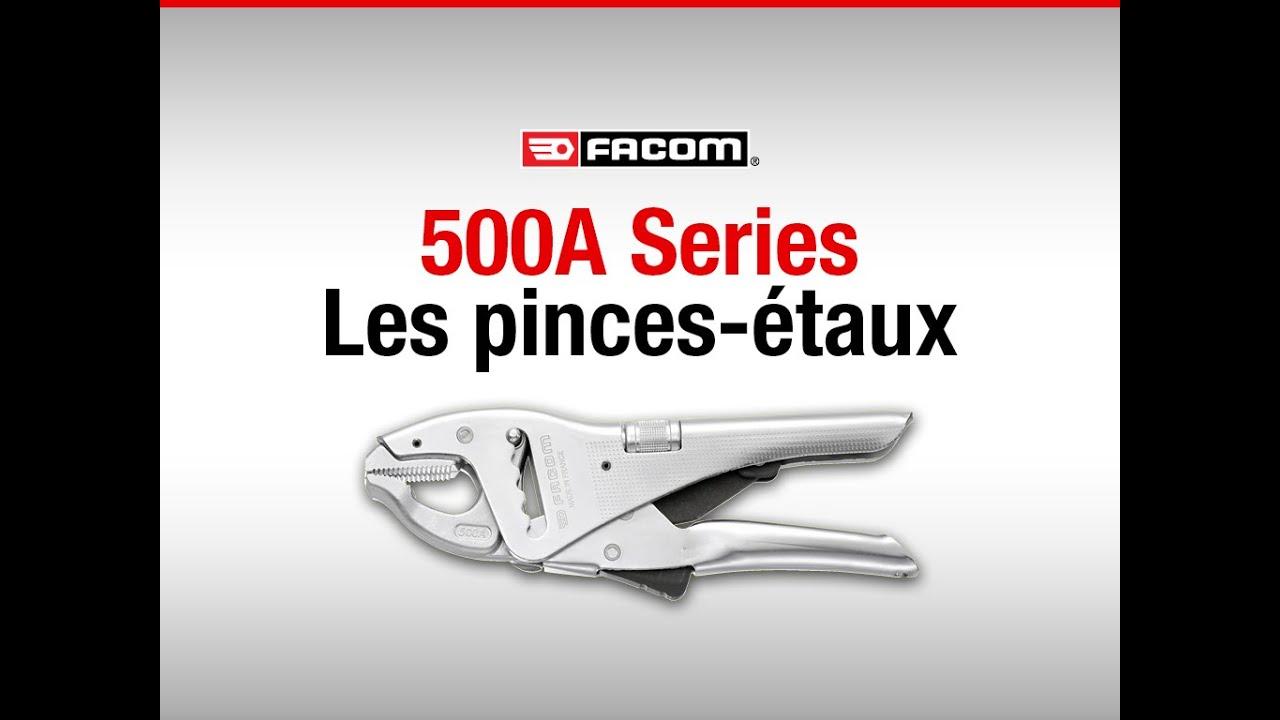 "Facom 501A Pince-étau /""made in France/""  multipositions à becs longs *NEUVE*"