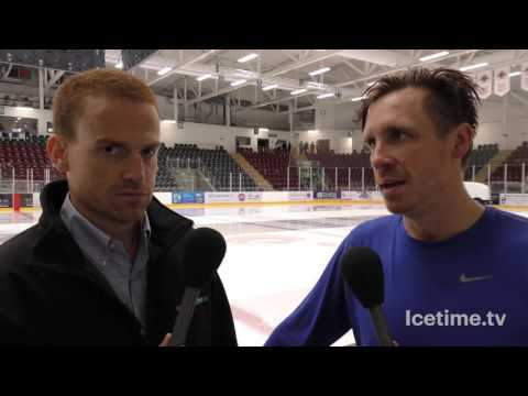14th August 2016 - Devils v Zagreb Post Match Interview, Zagreb Man Of The Match Colby Genoway
