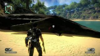 Just Cause 2 – Beached Whale Easter Egg