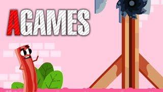 [AGames] BarbarQ и Сосиска из ТОПа игр Google Play