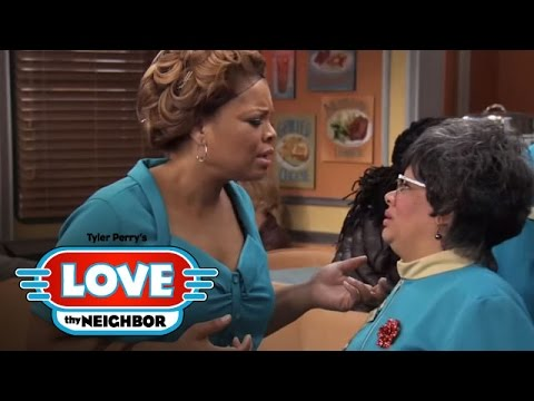 The Gang Is Shocked by Linda's Big News | Tyler Perry's Love Thy Neighbor | Oprah Winfrey Network