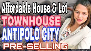 Affordable House And Lot (townhouse) @ Antipolo Rizal
