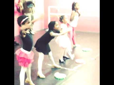 Ballet/Tap Combo with the little ladies 5&6!