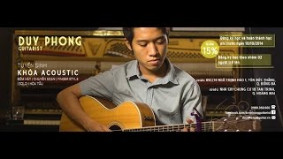 Chuyện Tình - Chờ người nơi ấy - Duy Phong (Fingerstyle Guitar)