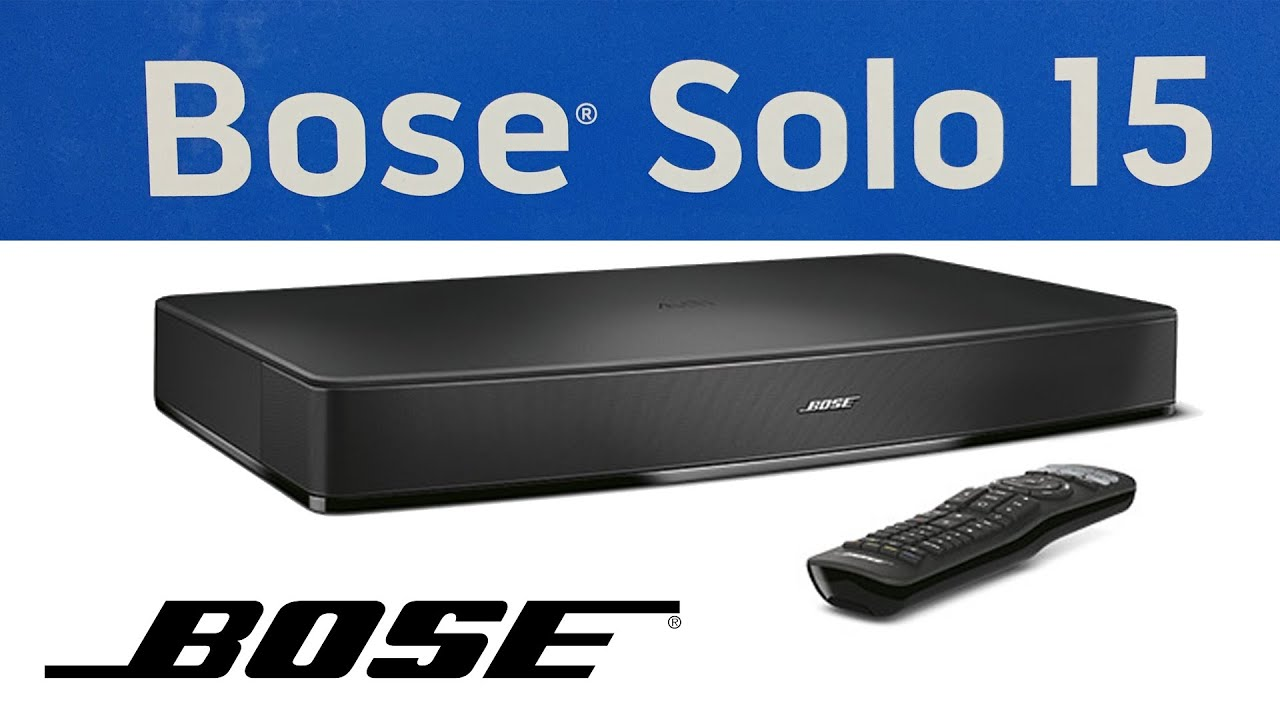 Unboxing Of New Bose Solo 15 Speaker Series Ii Tv Sound System You