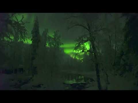 Spectacular Northern Lights illuminate Lapland